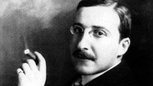 Stefan Zweig (1881-1942) ecrivain autrichien, ici vers 1912 --- Stefan Zweig (1881-1942) austrian writer, here c. 1912